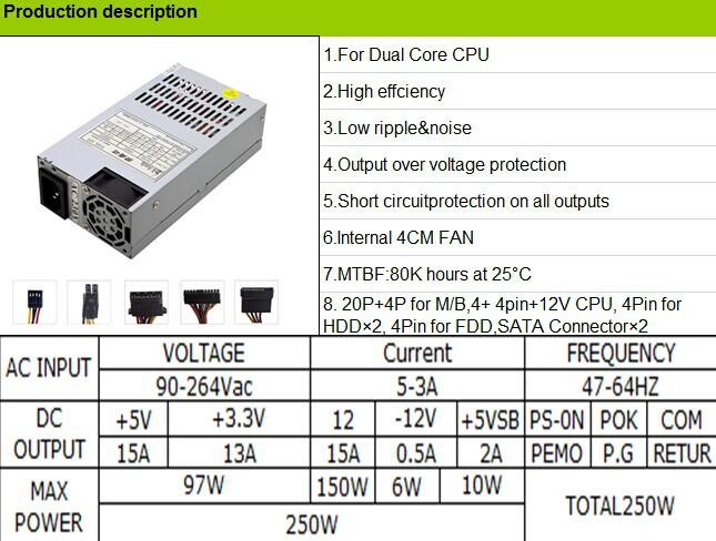 Atx Computer Case Power Supply Mini Pc Power Supply 400w - Buy Atx ...