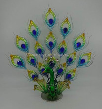 metal mold peacock