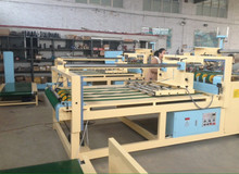 cheapest semi automatic carton box folder gluer machine/discount price automatic carton folder glue machine/newly carton gluer