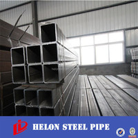 erw welded oiled carbon steel square pipe piping