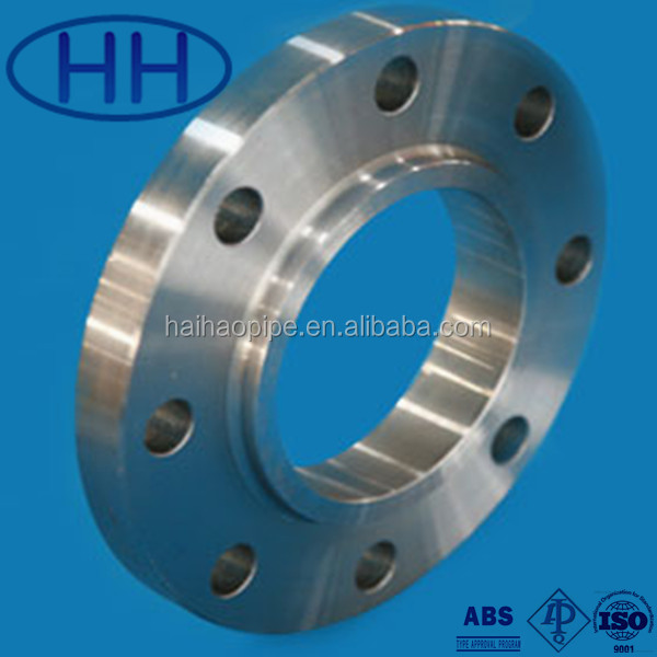 ANSI B16.5 Forged Pressing stainless steel pipe <strong>flange</strong> with ISO certificate