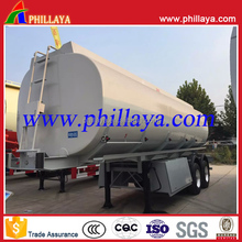 50000 liters tri-axle fuel tank semi trailer and trailer mounted fuel tanks