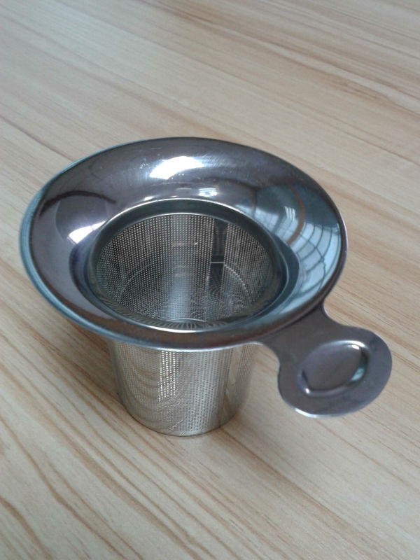 2015 High quality stainless steel etched mesh tea strainer, snare strainers, tea strainer
