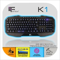 Glow In The Dark Keyboards LED Keyboard K1 Android Tablet External Keyboard