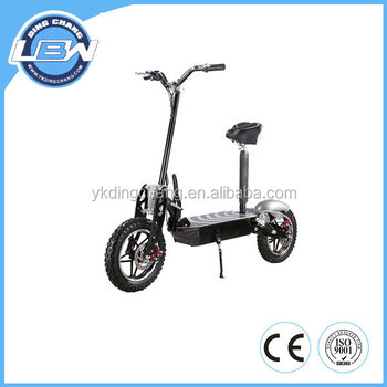 2013 Newest 800W 48V Big Wheel Electric scooter with basket(XW-E05P)
