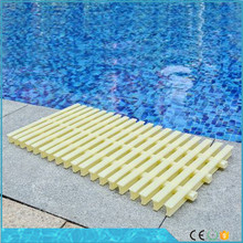 Swimming pool pps grating /3 holes pool overflow grating