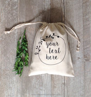 Wholesale Organic Cotton Fabric Drawstring Bag