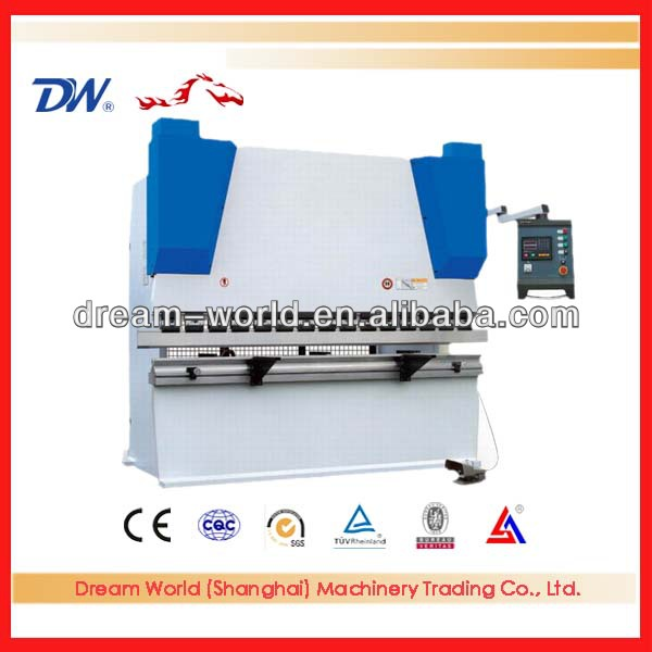 Dream word cnc hydraulic iron sheet press brake machine , hydraulic bending press machine , hydraulic press brick machine