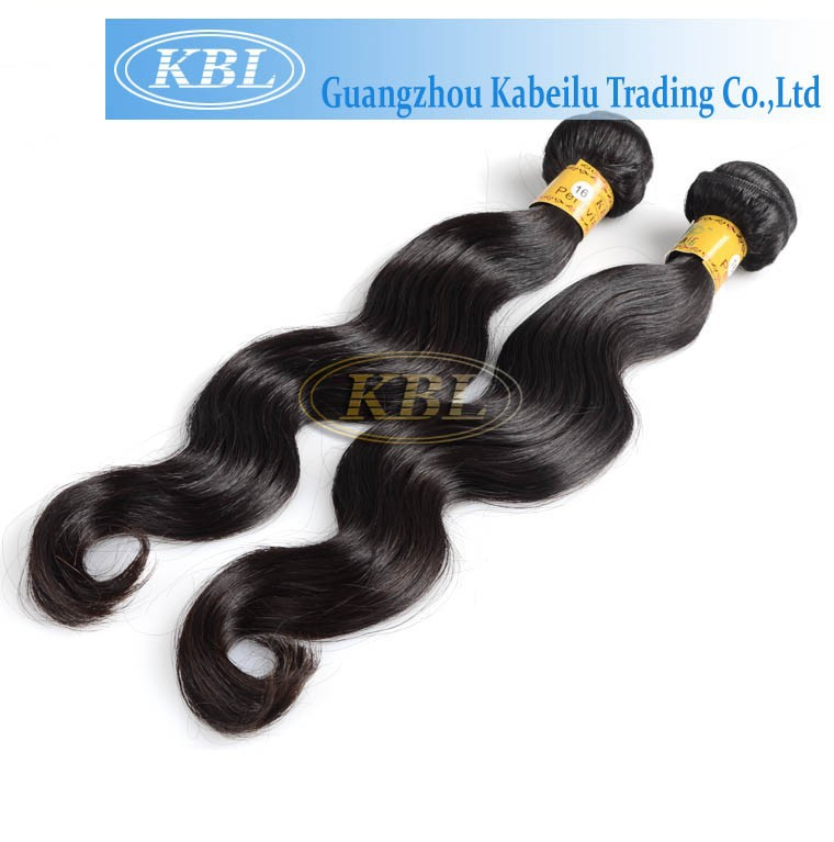 KBL hot selling wholesale virgin hair quality products peru