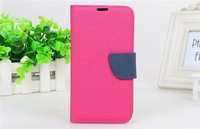 hot selling leather flip case for samsung galaxy note2 n7100 case