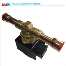 Refrigeration Spare Parts Solenoid Valve For Condensing Units