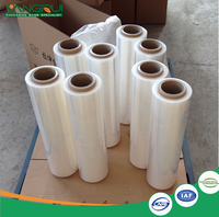 colored plastic roll ldpe stretch film pvc wrap plastic packaging pallet wrap