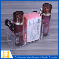 New product lucite acrylic cosmetic display organizer