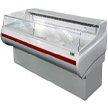 meat shop showcase refrigerator self service counter