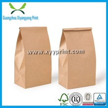 Custom print hottest brown kraft paper bag for food, Carry out bag