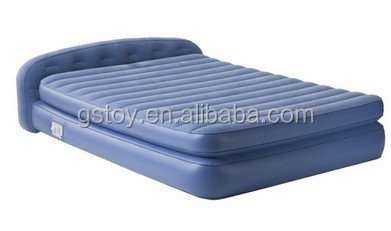 PVC inflatable soft double size air mattress air bed