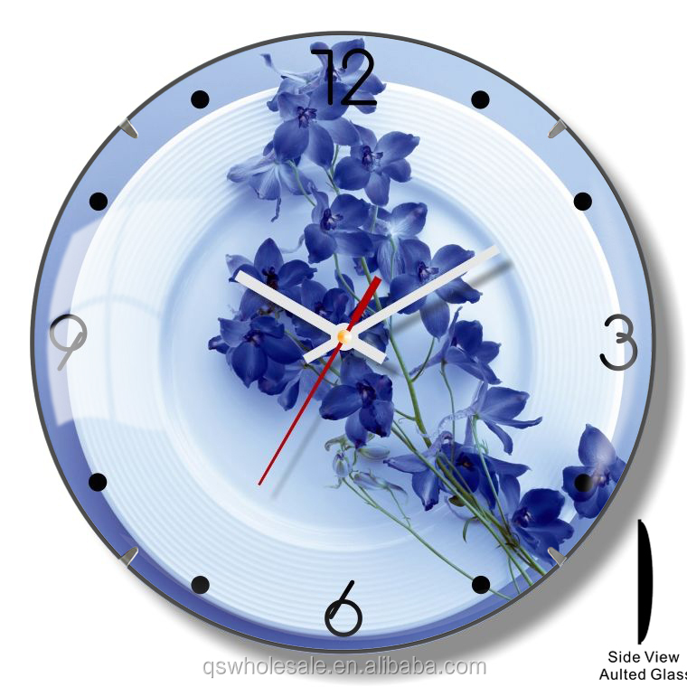 Modern design and beautiful style cheap price kitchen plastic wall clock