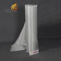 silicon coated 600g fiberglass fabric