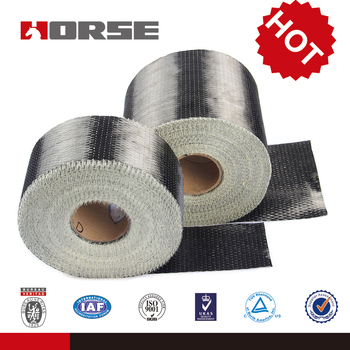12K 300g/m2 UD carbon fiber fabric used in bridge reinforced