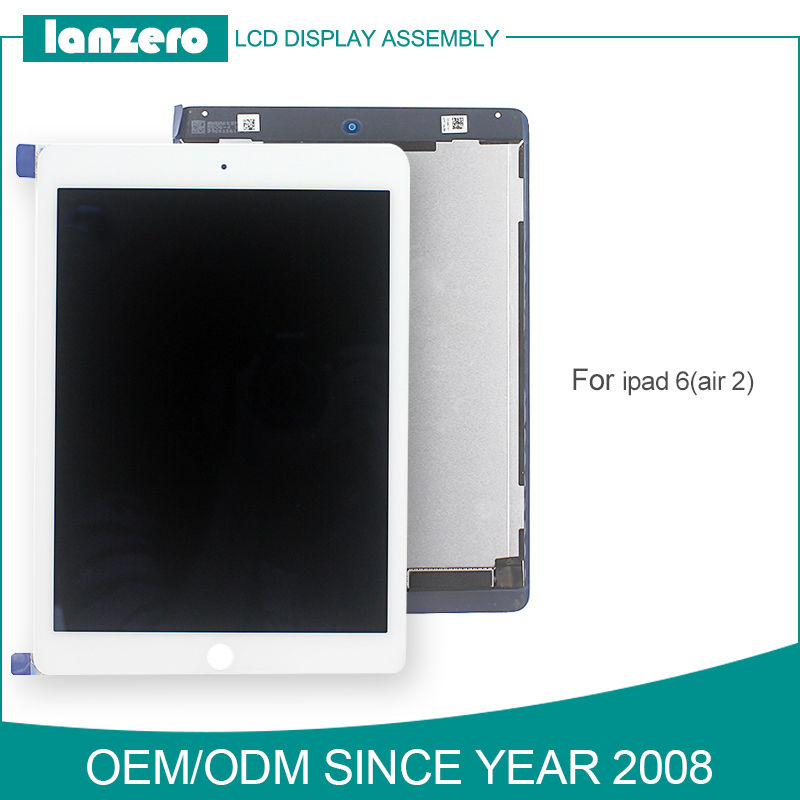 High Grade LCD for iPad Air2 Digitizer Screen for iPad6 Tablet Parts