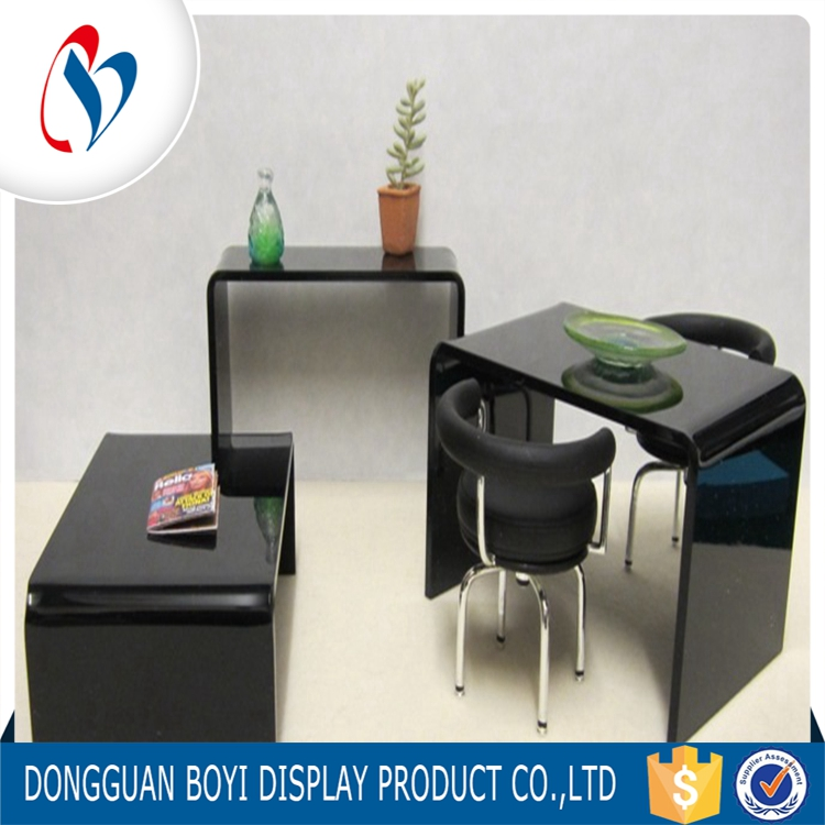 High quality of acrylic table/transparent acrylic tabler/acrylic furniture of table