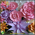 2017 hight quality new products hot sale large.paper flowers for party