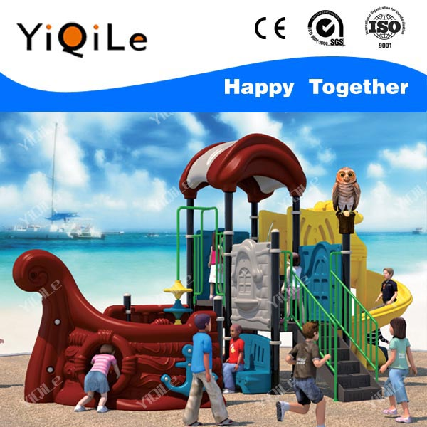 Small sailing boat outdoor play school toys cheap children slides