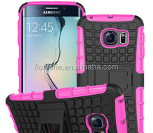 FL3572 2 in 1 combo mobile phone case for galaxy s6 for samsung galaxy s6 case
