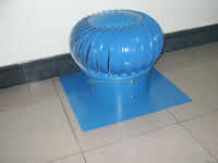 120mm whirligig roof ventilation fan for tube of workshop