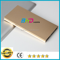 Promotional new products 2016 portable power bank 10000mah dual usb power bank for xiaomi