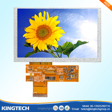5 inch gateway lcd screen replacement 800*480 high resolution