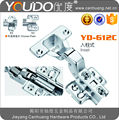 slide on hydraulic cabinet hinge