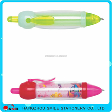 2016 custom clip pen cute plastic pen with custom clip cartoon pen clip
