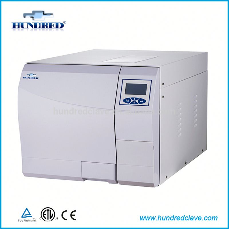 Countertop portable dental Class B autoclave with internal printer