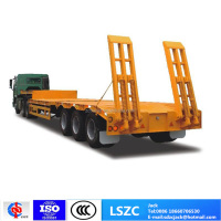 High Quality 3 Axles Low Bed