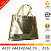 Custom printed large resealable aluminum foil/ non woven packaging bag