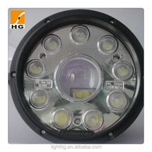 42w truck led lights 5'' for offroad trailers headlight highlow beam led head lights for atv mini jeep