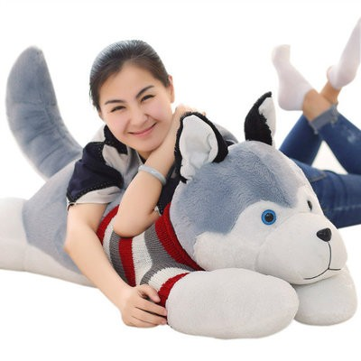 living creative wholesale hot style cute over size dog stuffed animals
