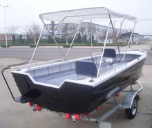 4.5m CE Approved Aluminum Patrol Boat