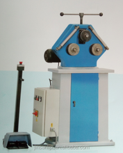 Small portable Manual Steel tube/ angle / Channel/ Plate flat& vertical / Rod/ Square/ bending machine metal curving machine