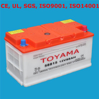 Good Quality Dry Charge Car Battery Auto Battery 12V88ah