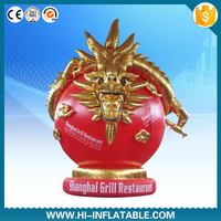 Best quality gaint advertising inflatable chinese dragon