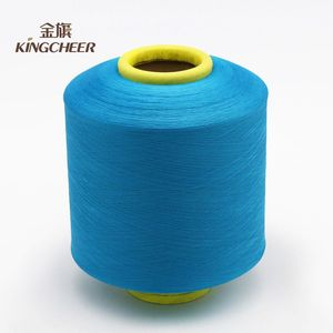 2018 Polyester covered spandex yarn 3075 for sock knitting machine