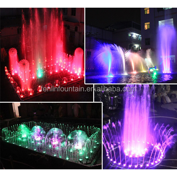 outdoor applicated antique musical dancing water fountain