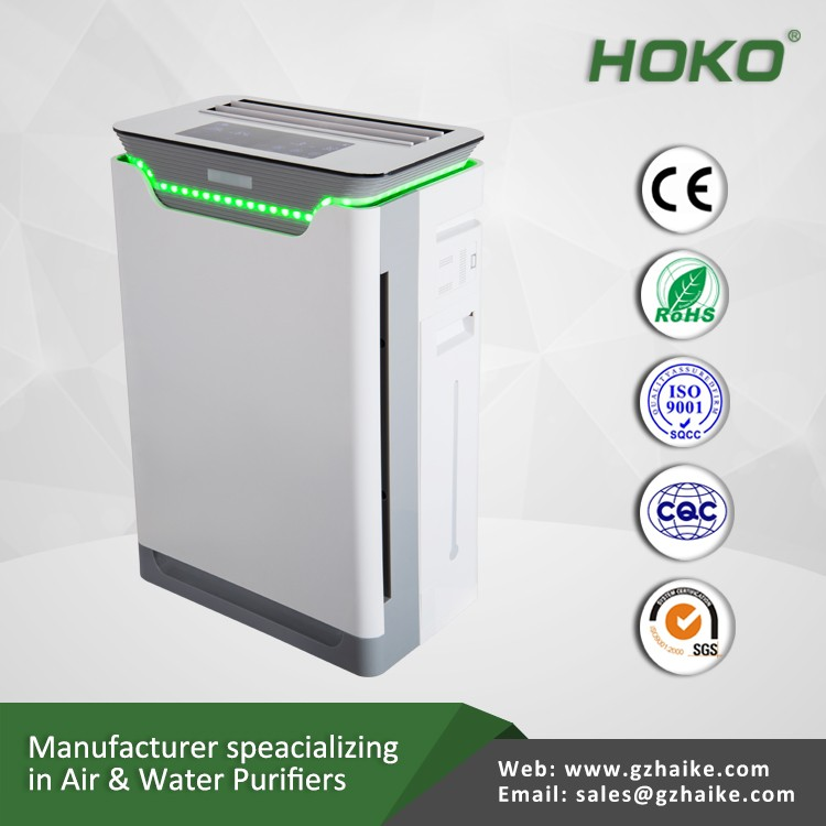 Ionizer air purifier China, wifi air purifier with Humidification, air purifier with remote control