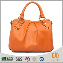 N1026-A1660 Luxury satchels fashion candy color handbags Italian Leather Bag Factory cheap price