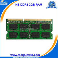 Low density Lifetime warranty 1 piece ddr3 2gb ddr 1333 laptop memory
