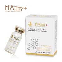 Alibaba hot selling acne treatment products Happy+ VC Whitening Ance Treatment Serum