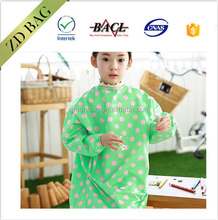 fashion design waterproof painting apron naughty apron for kids