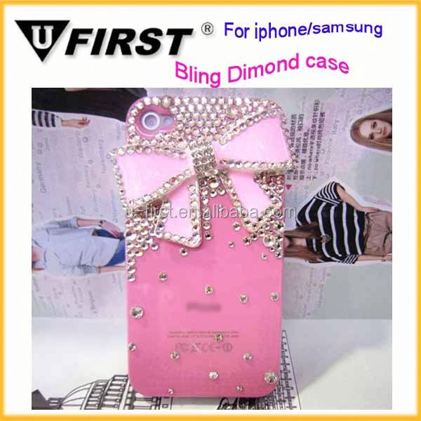 fancy mobile case beautiful and fashionable cheap price for samsung and for iphone cell mobile phone case
